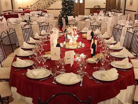 Il pranzo di Natale 2019 a Villa Conti Cipolla