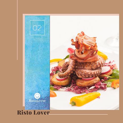 """""""Risto Lover"""" (per 2 persone)"""