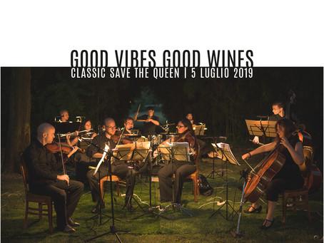 Classic save the Queen: cena con concerto venerdì 5 luglio 2019