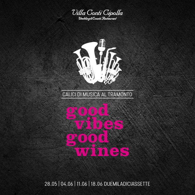 Good Vibes, Good Wines: aperitivo nel parco