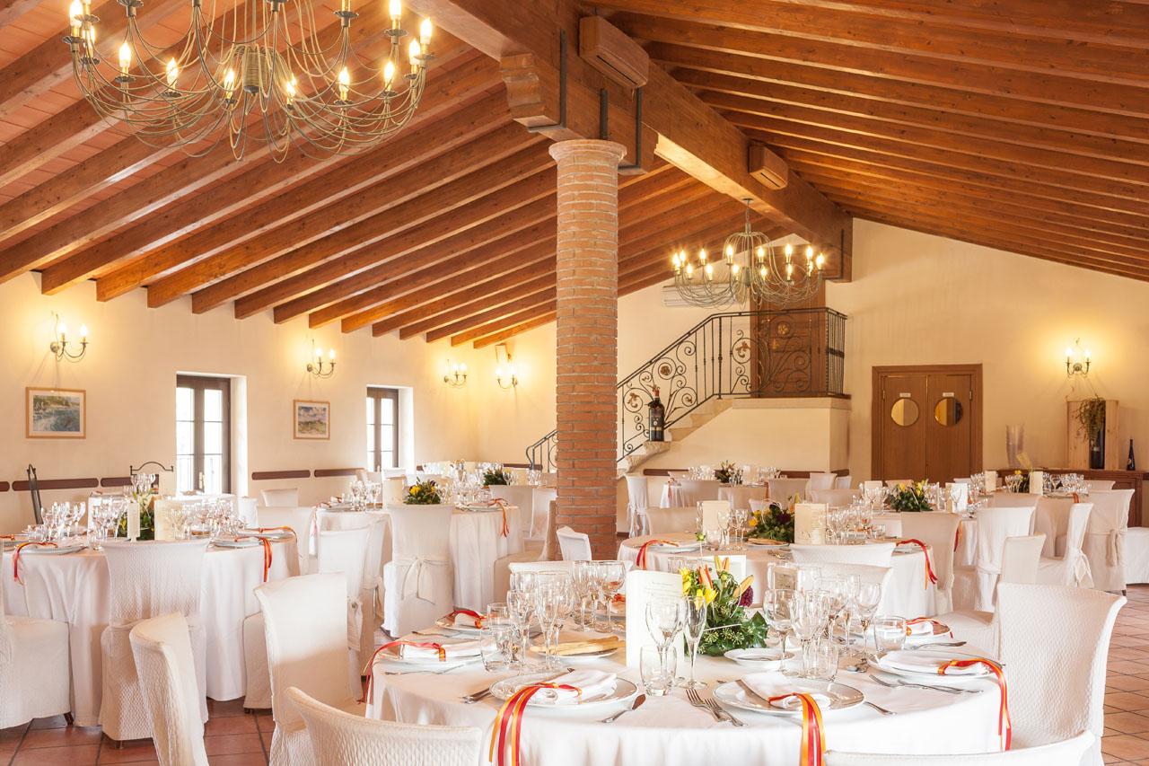 Sala matrimonio lago di garda