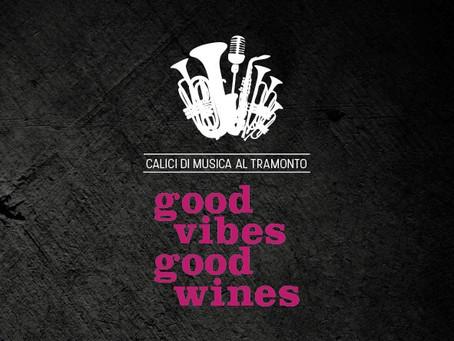 Good Vibes, Good Wines: gli aperitivi nel parco con musica live