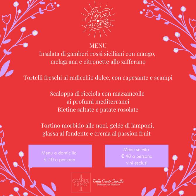San Valentino 2021: love wins!