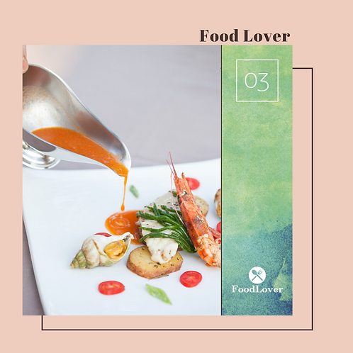 "Voucher ""Food Lover"" (per 1 persona)"