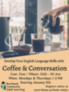 Develop your English Skills with Coffee