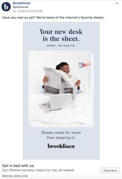 Brooklinen Humor Seasonal:Social Relevan
