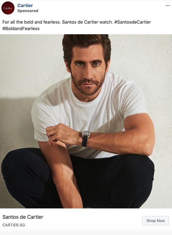 Cartier x Jake Gyllenhaal