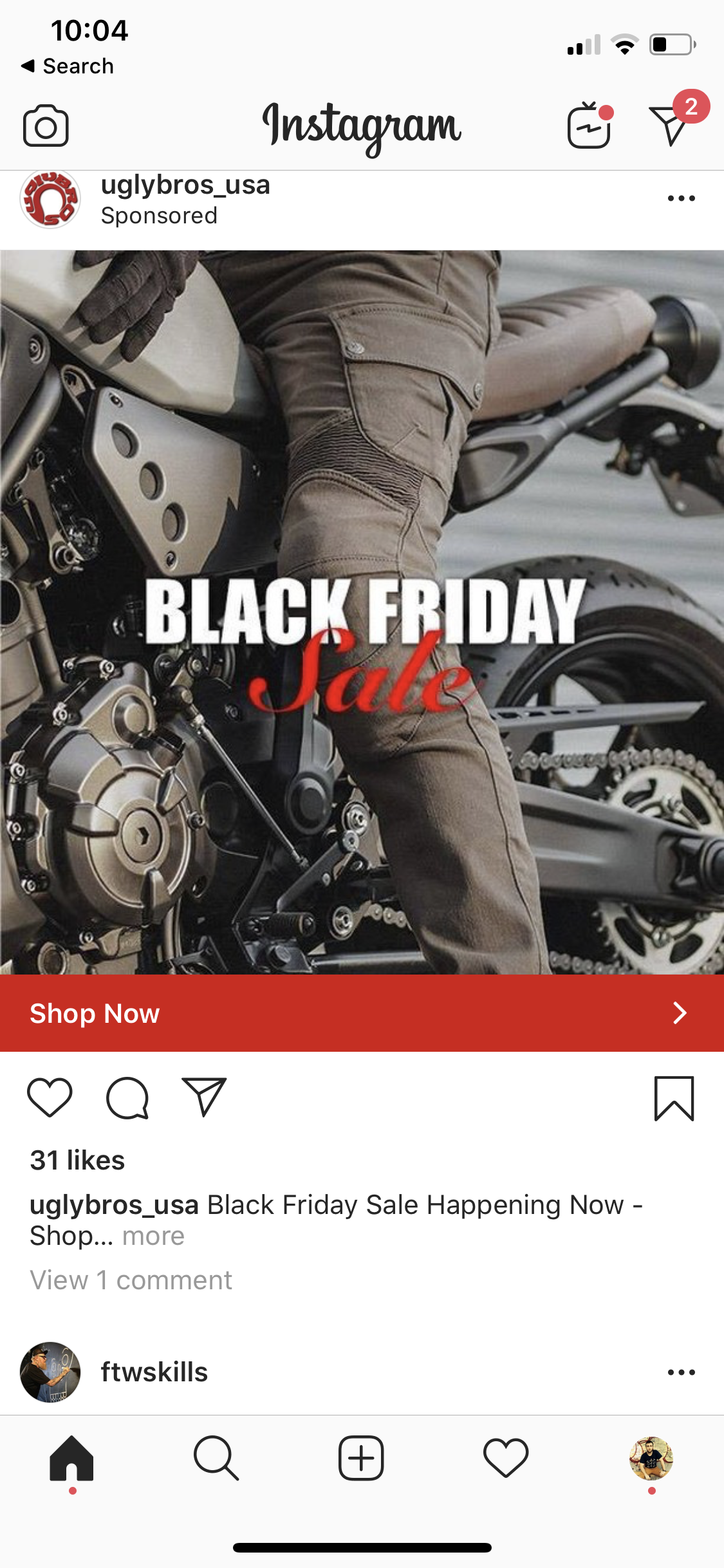 Ugly Bros Black Friday Static Image Inst