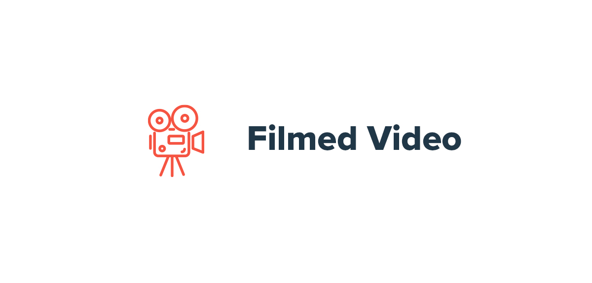Filmed Video