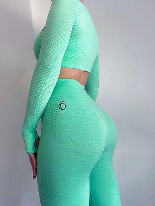 Minty push up leggings
