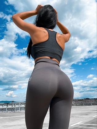 Waist trainer shape grey leggings