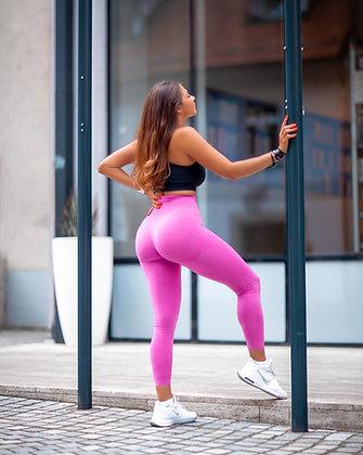 Hot pink booty lift leggings