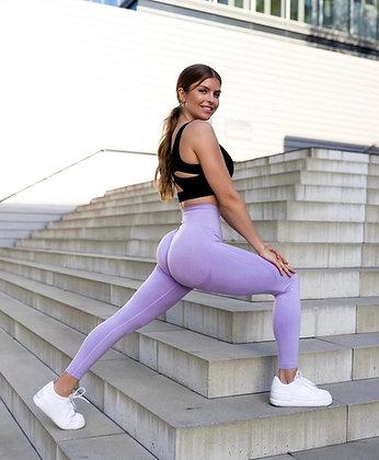 Baby purple booty lift leggings