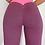 Thumbnail: Bubble butt push up pink leggings