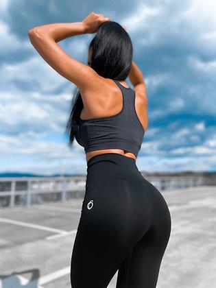 Waist trainer shape black leggings