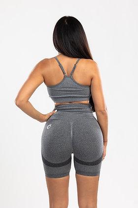 Scrunch grey push up shorts