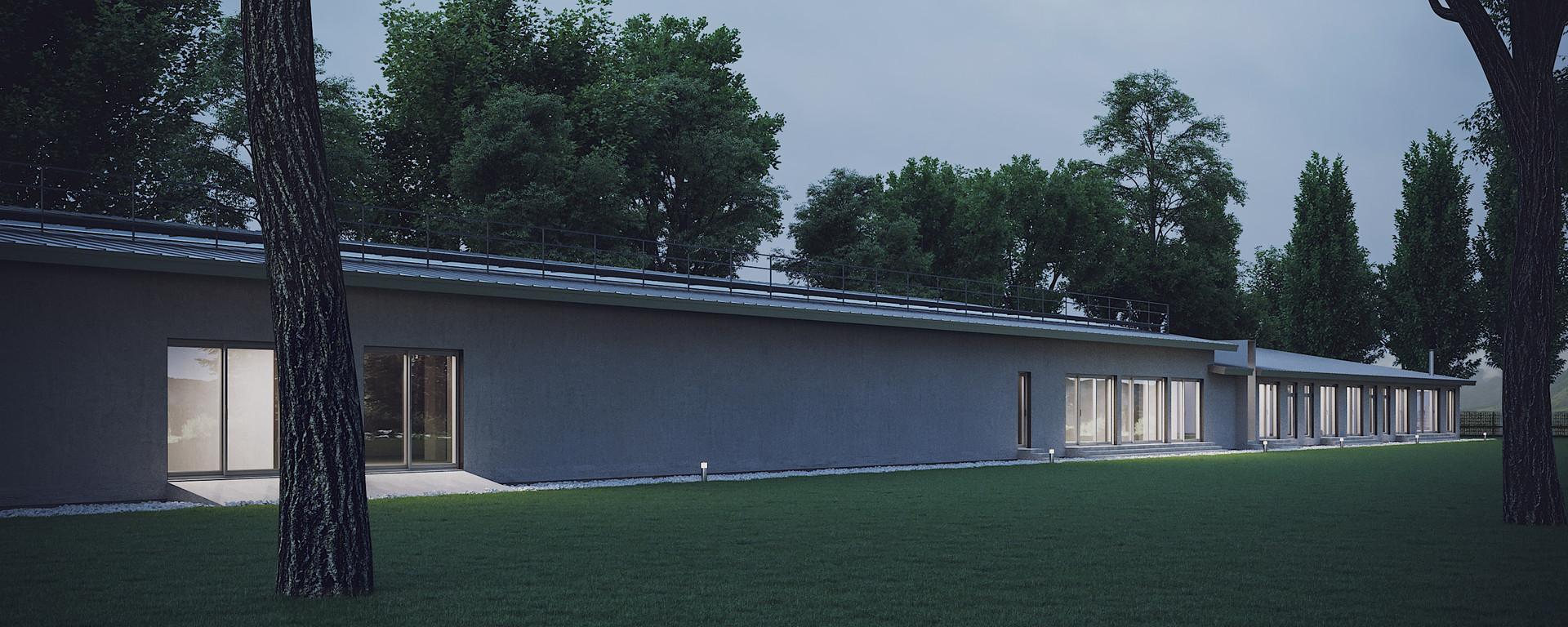 Architectural Project in Navazi, Georgia. 2019