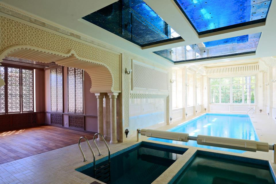 Architectural projects for private house in Moscow, Russia. 2008