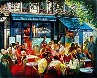 "Lunch at restaurant ""Bertillon"""
