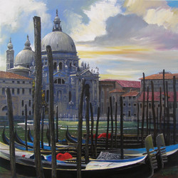 """Санта Мария делла Салуте"". Венеция."