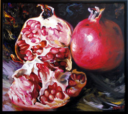 Pomegranates(80x90sm)