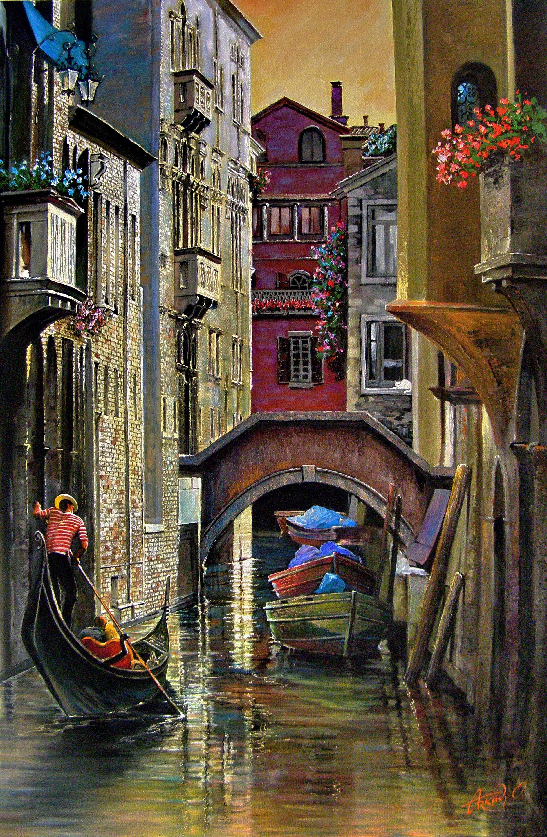 Bottleneck. Venice.