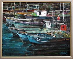 Jaffa. Fishing port