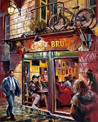 """""""L Art Brut"""" at night"""