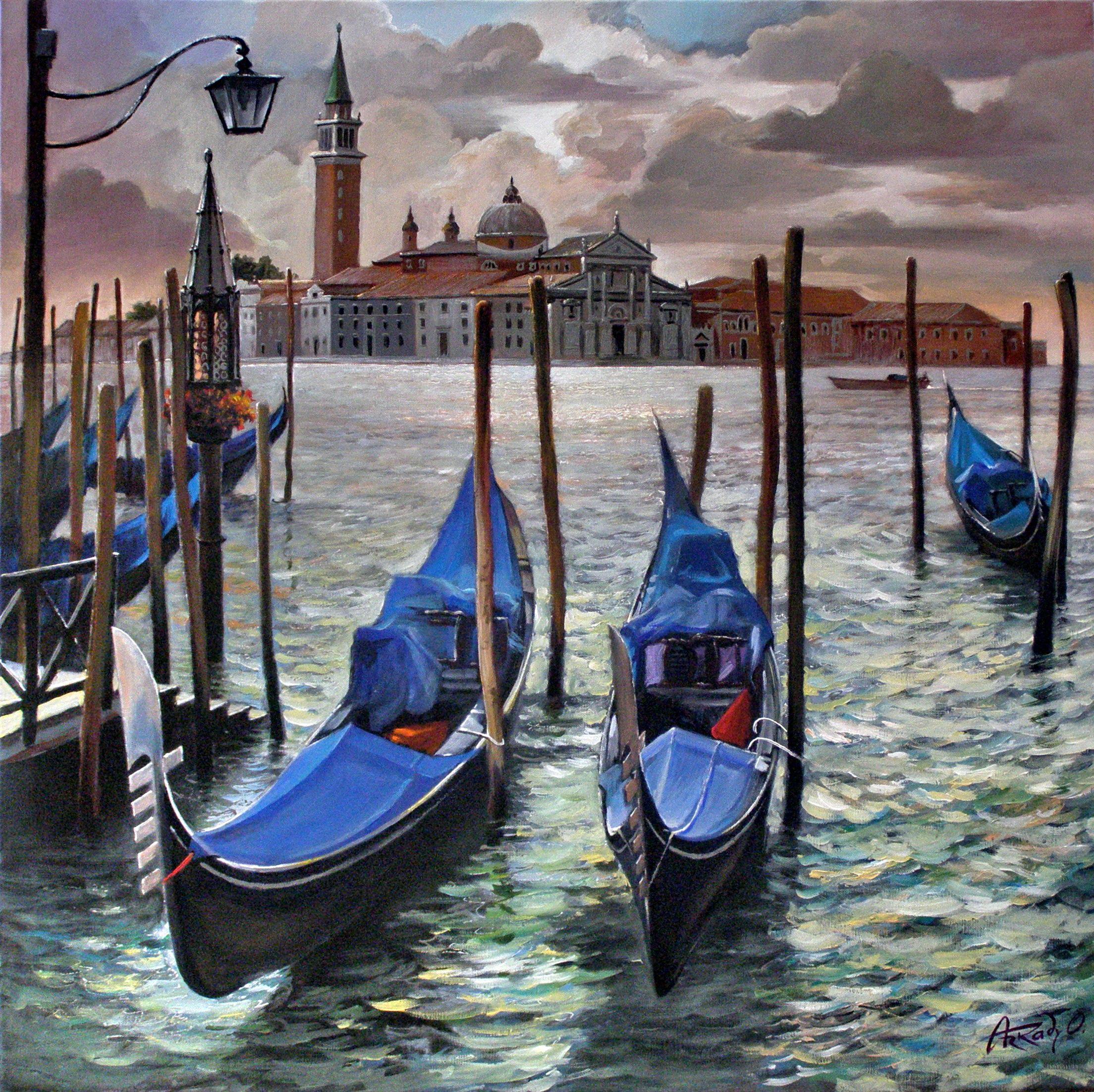 It mizzles. Venice.