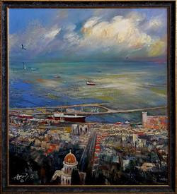 Haifa. (57х50. 2017)