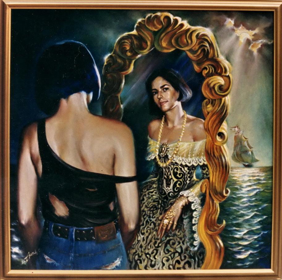 Portrait in fantasy-style