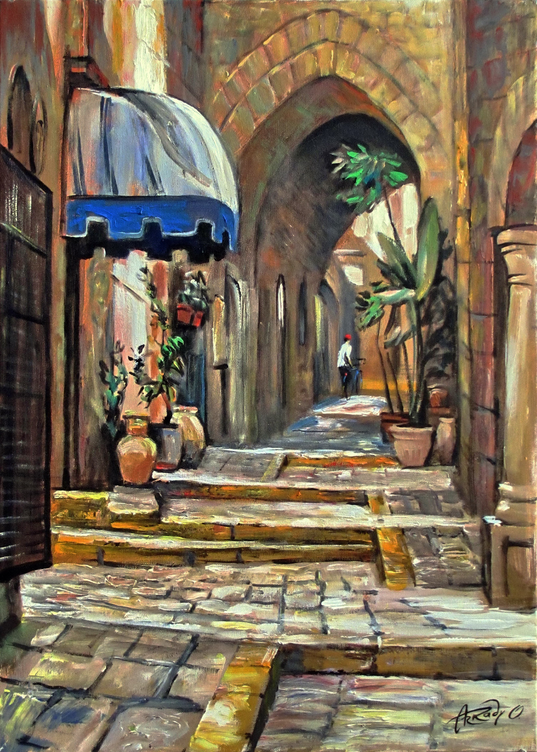 Street of Old Jaffa