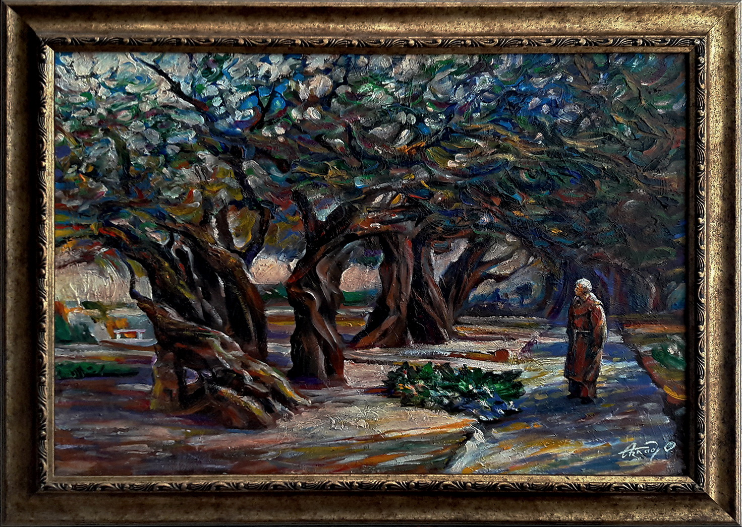 Parade_of_Gethsemane_Olives_(50х70)