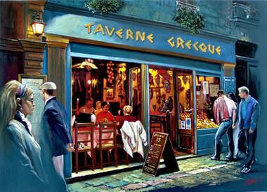 Taverne greque