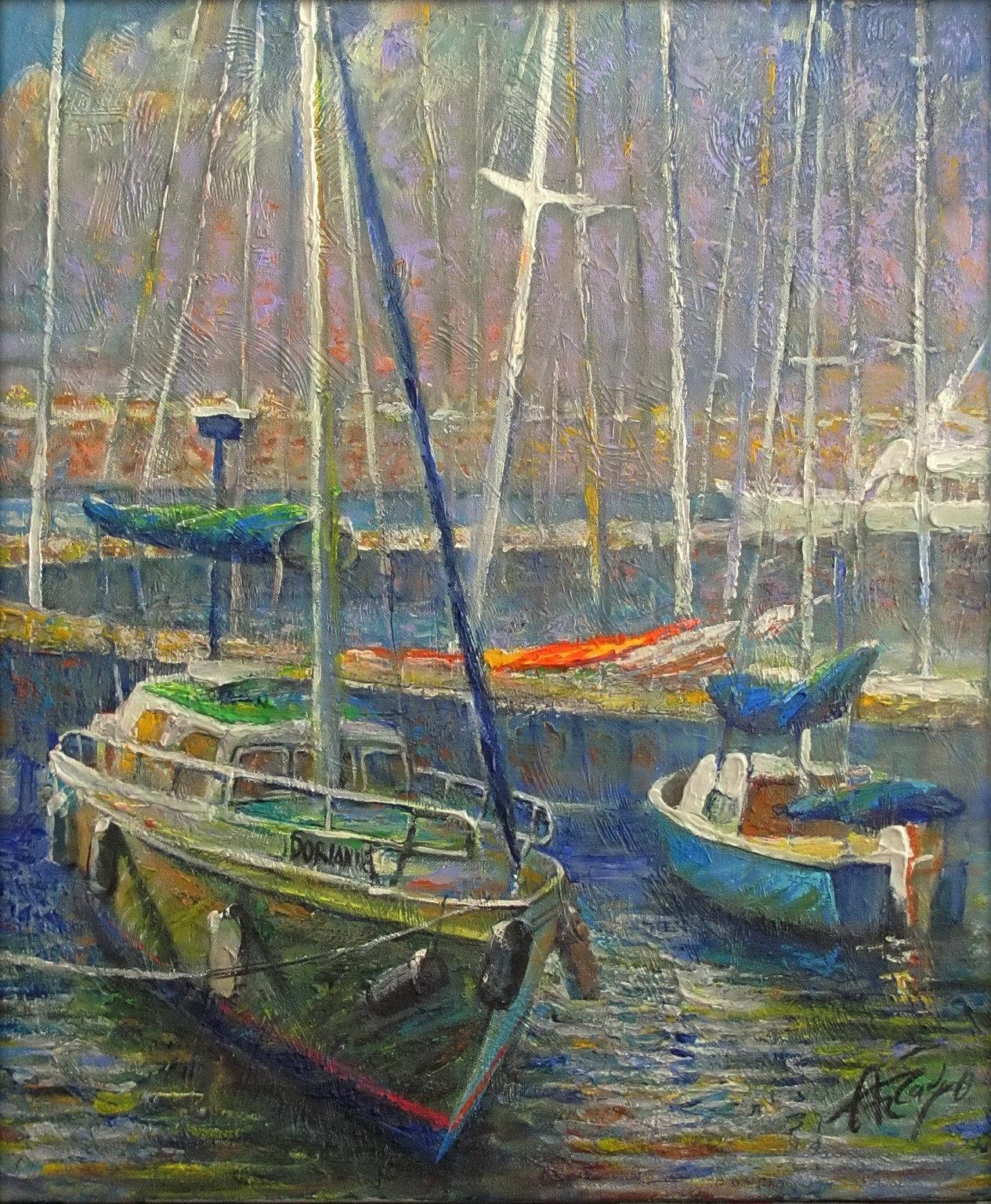 Ashdod Marina: Arkady Ostritsky Art