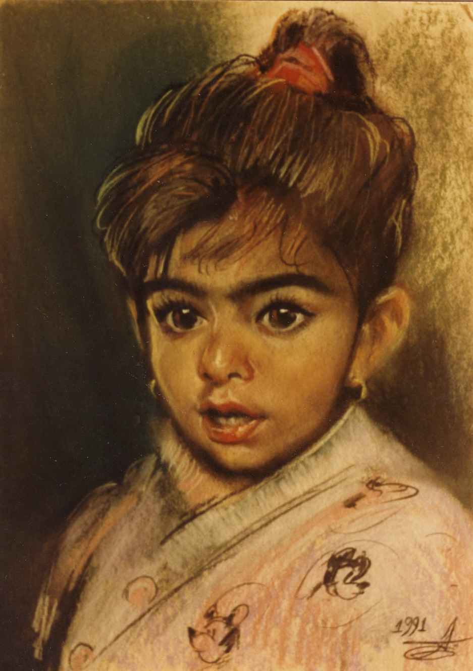 The little girl from Marrocco