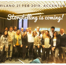 Storytelling is coming!
