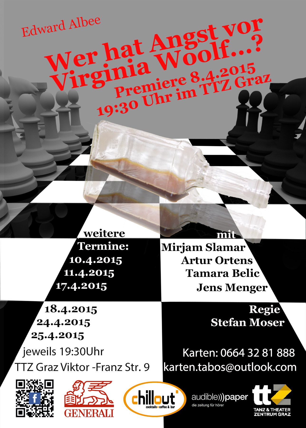 Flyer Virginia Woolf