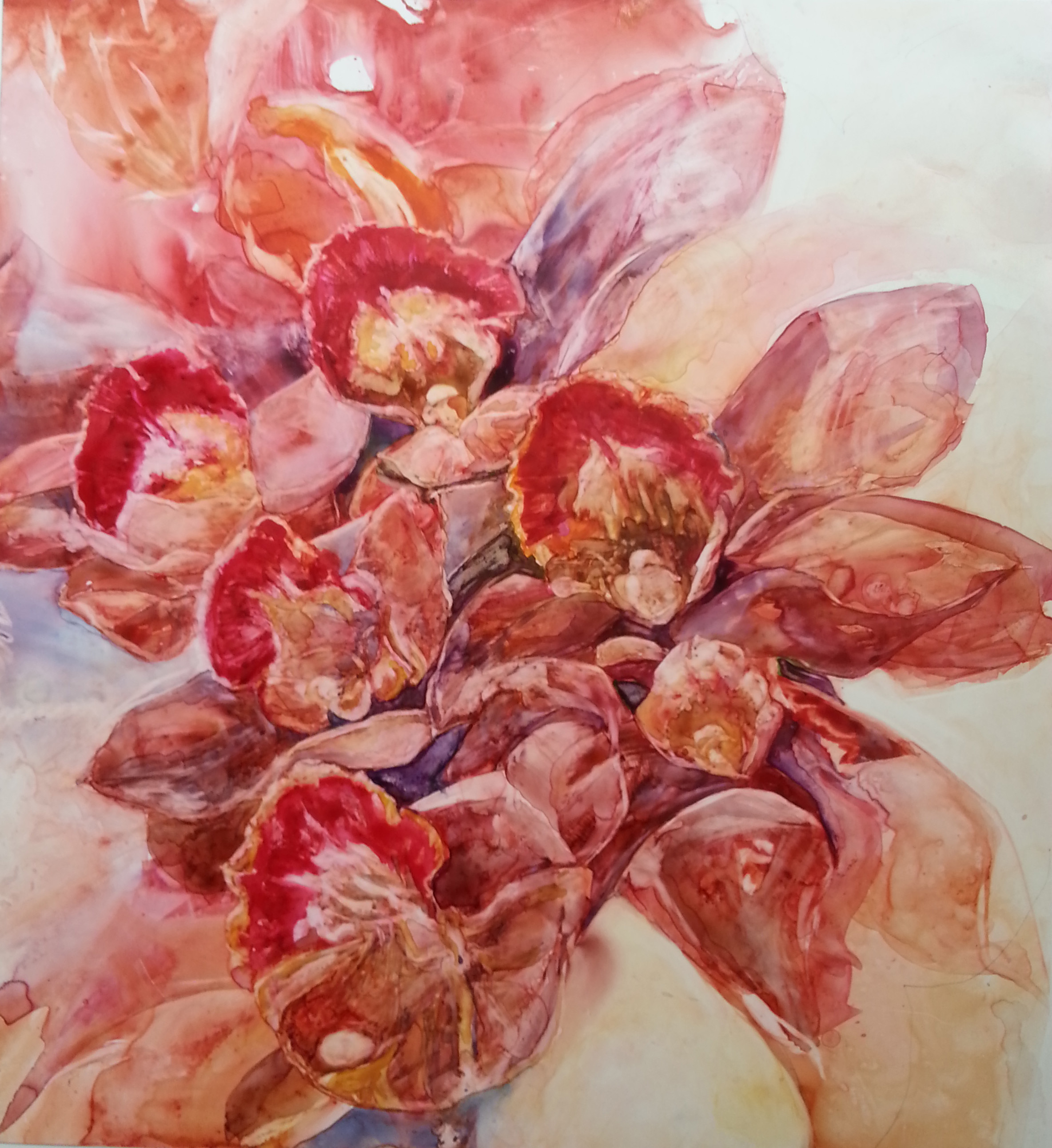 Orchid Assembly - SOLD