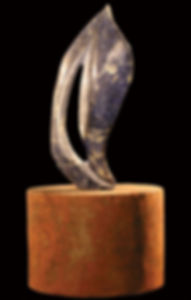 Title: Danae Material: Sodalite stone Dimensions: 30 x 20 cm Weight: Price: Sold