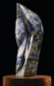 Título Hebe Material Piedra sodalita Dimensiones 34 x 14 cm Peso Precio Vendida