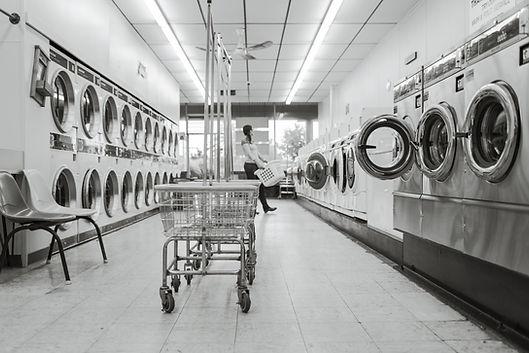 Commercial appliances, Laundromat