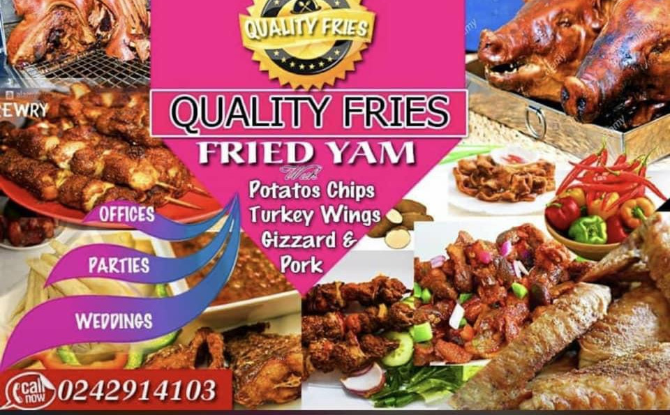 QUALITY FRIES - Fried Yam with Potato Ch