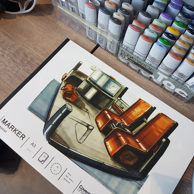 Alexey Andreev wins Coventry marker pad competition