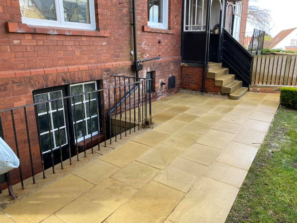 Patio Cleaning in the UK