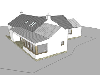 House extension, Moniaive