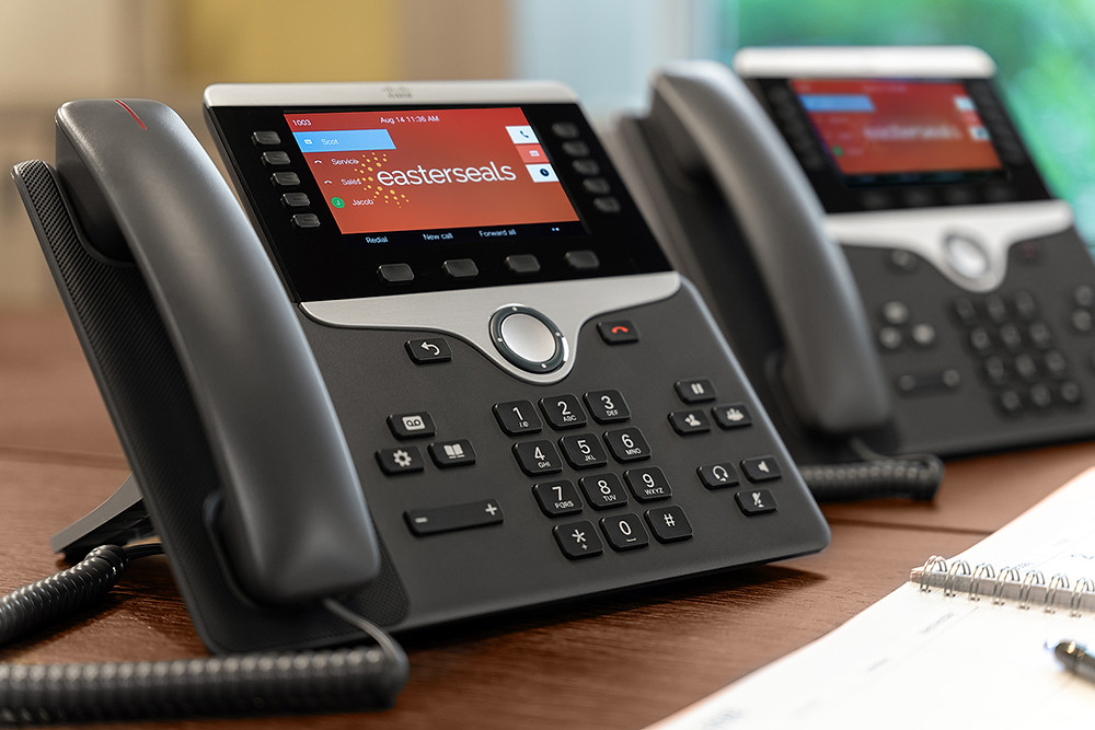 Cisco PBX Phone System with Color
