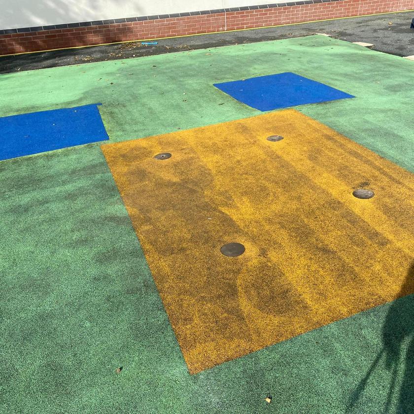 Wet Pour Children Safety Playground Cleaning in Leeds, Bradford, Sheffield, London
