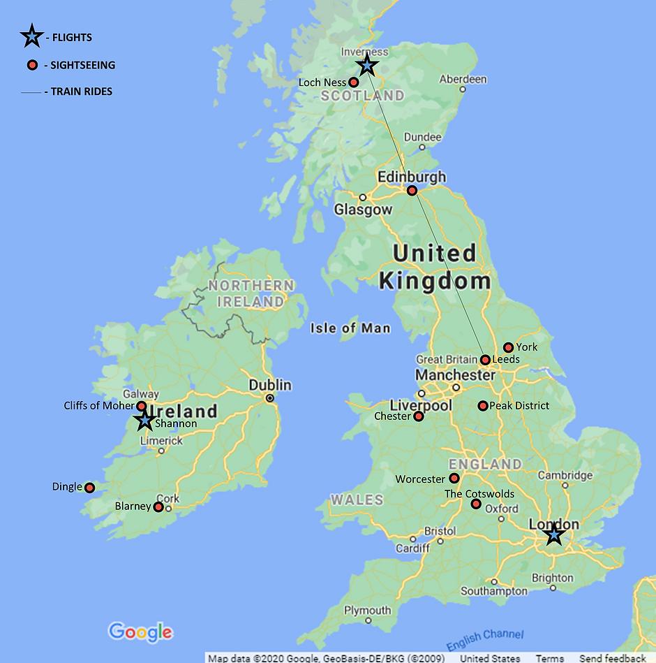 UK Ireland tour map.png