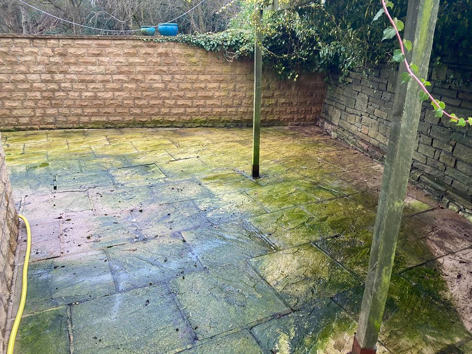 Patio Cleaning In Skipton, Yorkshire, Harrogate, Ilkley and Bradford